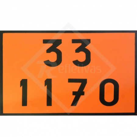 Placa Número ONU - 30 1170