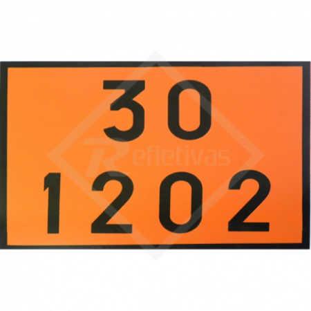 Placa Número ONU - 30 1202