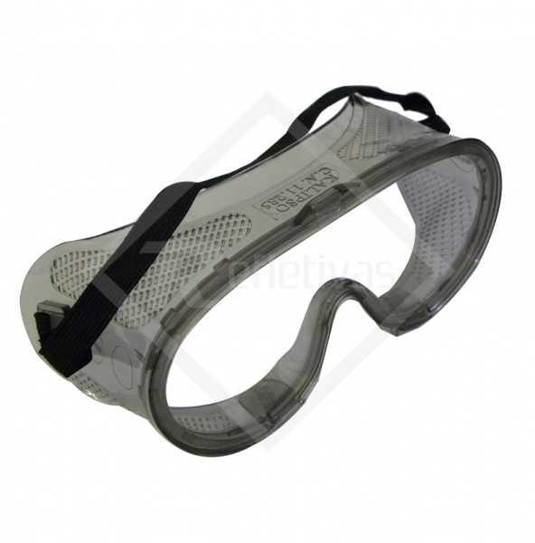 Óculos Ampla Visão - Lente Incolor.