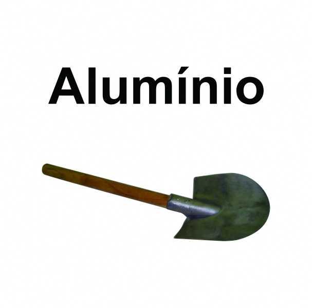Pá anti-faisca Cabo Longo 1,0 metro.<br/>Pá de PVC ou Alumínio Anti faísca previne o perigo de explosão.