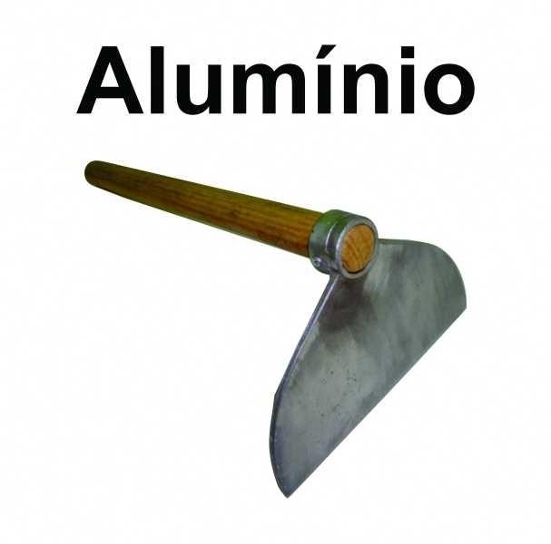 Enxada anti-faisca com Cabo Longo 1,0 metro <br/>Enxada de PVC ou Alumínio Anti faísca previne o perigo de explosão.