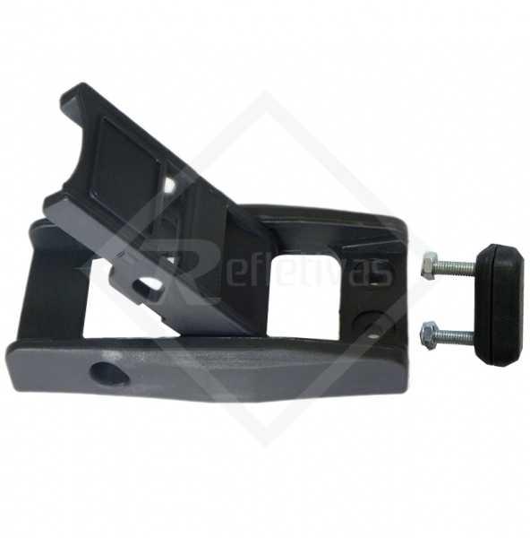 Fivela para Sider , produto para ser fixado na lateral da lona do Sider para segurança e manutenção do produto sendo transportado.