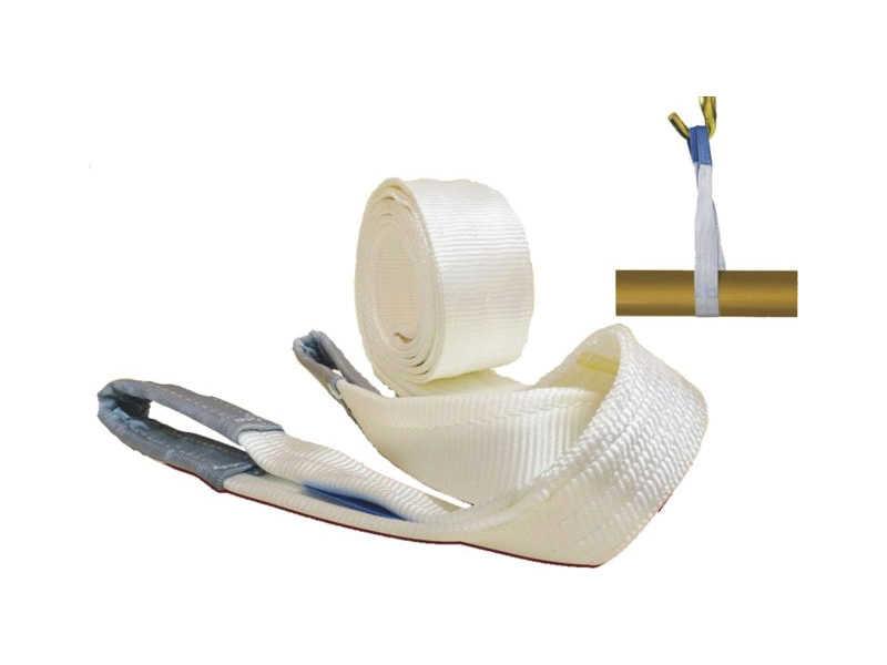 Cinta para Elevação de Cargas (slings) Branca - 100mm x 4m - 4T
