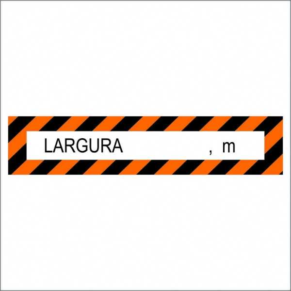 Faixas Veiculo Longo, Faixa de Largura e Comprimento e Faixa de Largura dentro das especificações técnicas normatizadas.