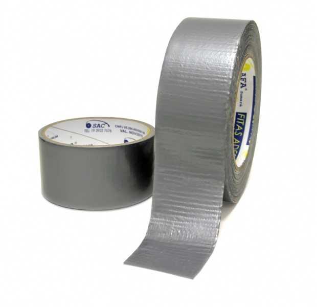 """Fita Adesiva Multiuso Reforço """"Silver Tape"""""""