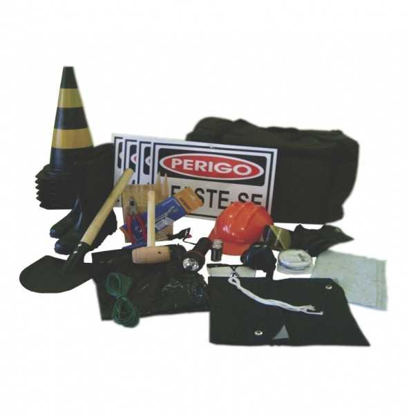Kit de Emergência NBR 9735