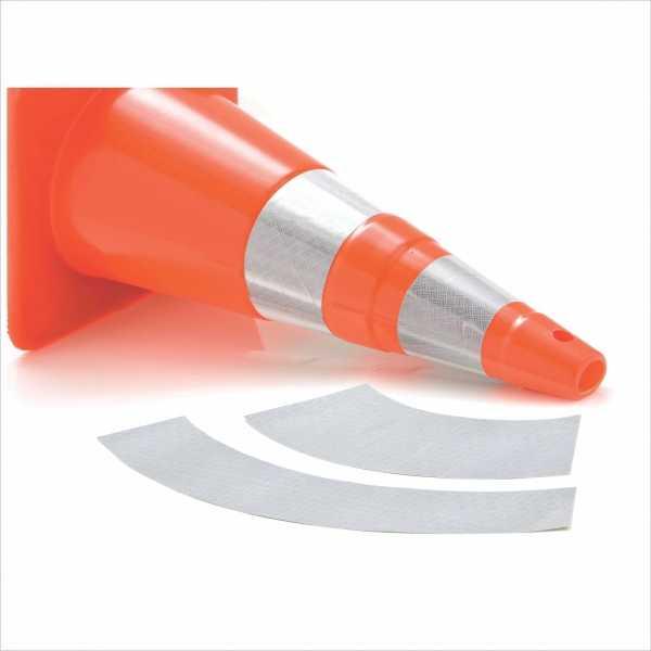 A película Retro-refletiva é um filme auto-adesivo conformável desenvolvido para cones.