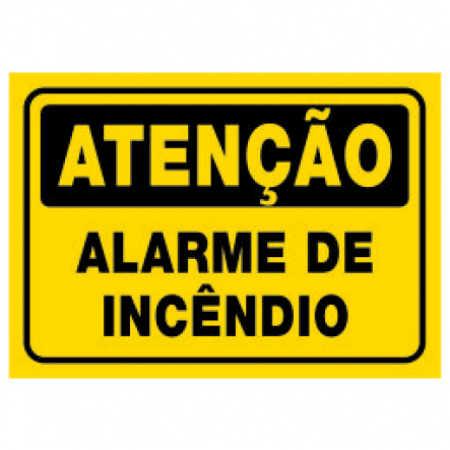 Placa Alarme de Incêndio