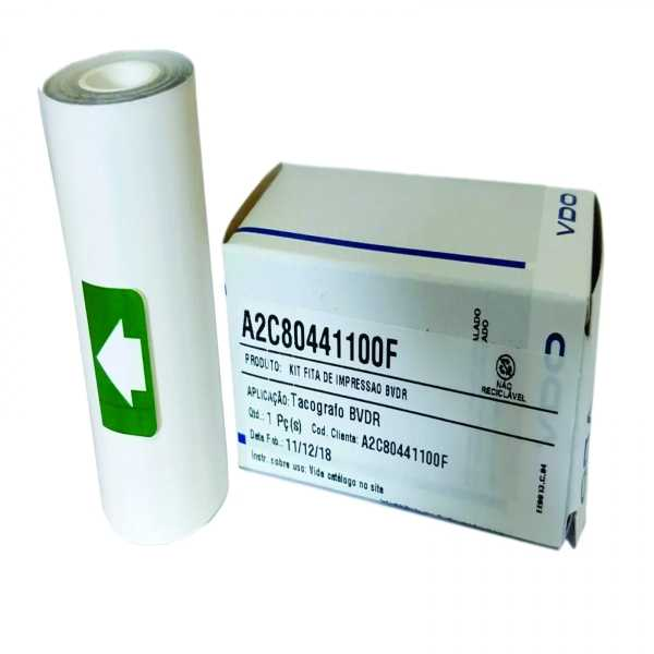 O Kit fita de impressão BVDR para tacógrafo digital tem como objetivo registrar de forma eletrônica, contínua, instantânea e inalterável a operação de um veículo que o tenha instalado.