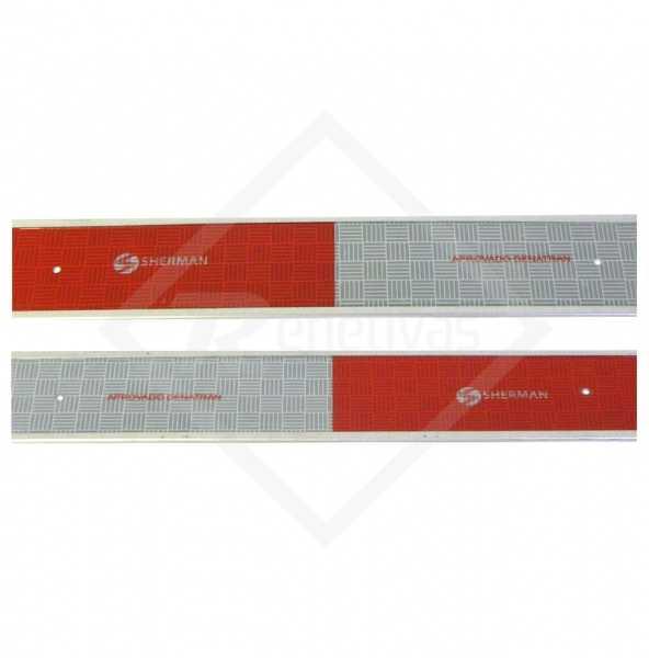 Faixa Refletiva para Carroceria Sherman - Base Alumínio
