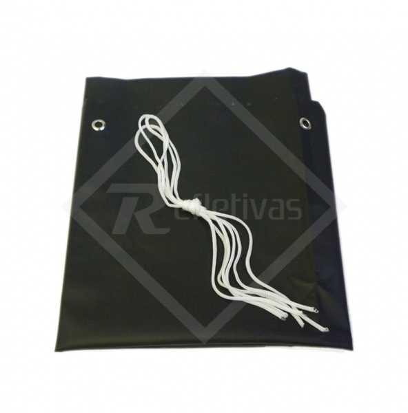 Avental PVC Reducap Preto 1,20 x 0,70 CA 21429