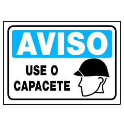 Placa Use o Capacete - Refletivas - Sinalizações Automotivas ... 540bd40a0e