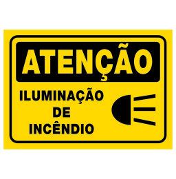 Placa Iluminação de Incêndio - Refletivas - Sinalizações Automotivas ... 09a287af7e