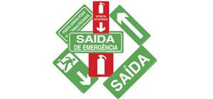 Sinalização de Emergência - Placas para adequação a Instrução Técnica do Corpo de Bombeiro